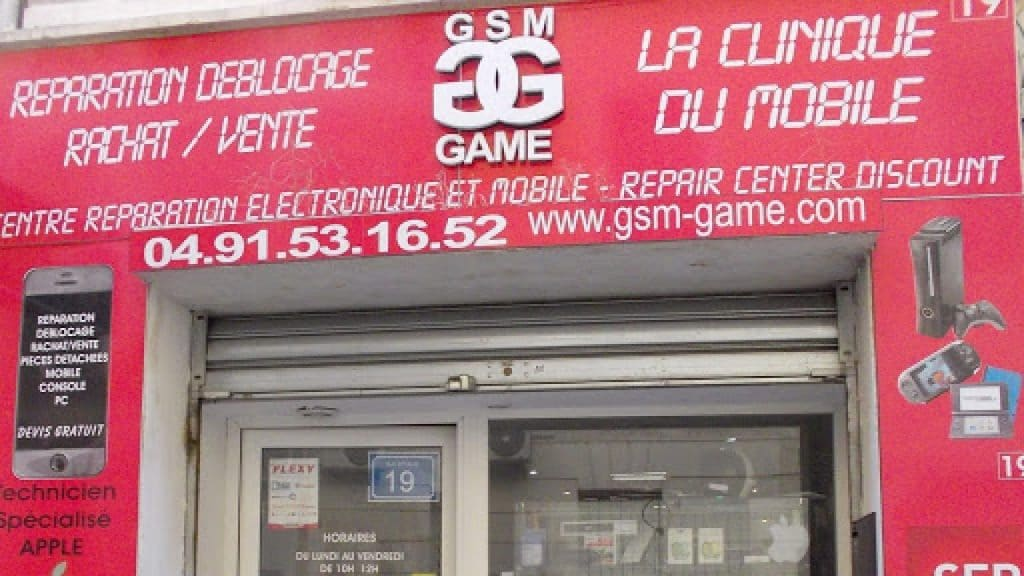 GSM GAME reparation Apple